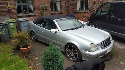 Mercedes Clk 230 Avantgarde Kompressor Convertable