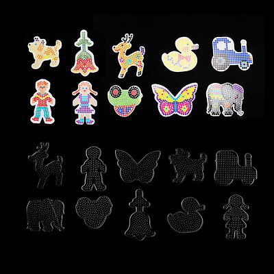 10 x Hama Bead Board For MIDI Beads Large Selection Peg Boards Kids Craft Gifts
