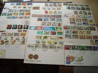 Collection of Thirty Three British First Day Covers + 1 Presentation Pack
