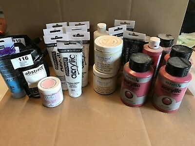 Bundle Of Brand New Acrylic Paint And Chalk Paint