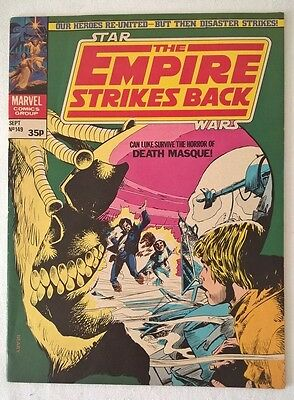Star Wars Weekly - No 149 - The Empire Strikes Back - Date 09/1981 Marvel Comics