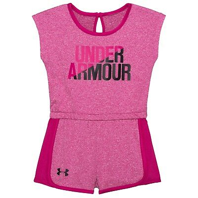 Under Armour HeatGear UA Graphic Sleeveless Jumper Romper Baby Girls 24 Months