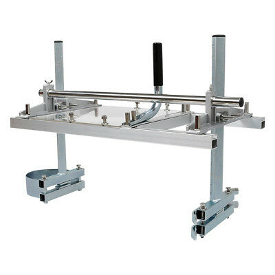 """Chainsaw Mill 14""""-24"""" Portable Chain Saw Mill Aluminum Steel Planking Lumber"""