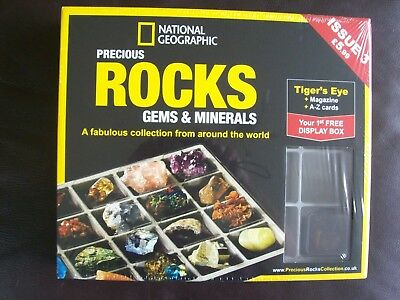 National Geographic Precious Rocks Gems & Minerals Magazine Issue 3 Tigers Eye