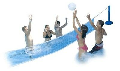 Cross Pole Volly Swimline Molded Sturdy blow molded posts with water weightable