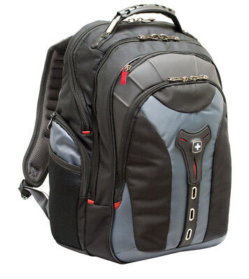"Wenger Pegasus 17"" Laptop Backpack Bag│Handle + Trolley│Anti-scratch Lining│NEW"