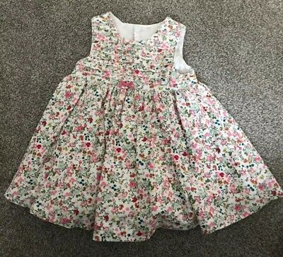Mothercare Cord Floral Dress Up To 3 Months Baby Girls Dress