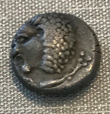 Greece Ancient 600-480 Bc Miletos City 1/12 Silver Stater Exceptional Coin Rare!