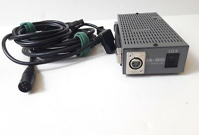 IDX IA-60 Pro Studio DC Power Supply w/ 4-pin XLR cable Video Audio AC Adapter