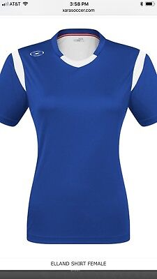 dfdc93d14e0 Xara Soccer Elland Jersey Shirt  54 List Price !!!Save!!! Women s