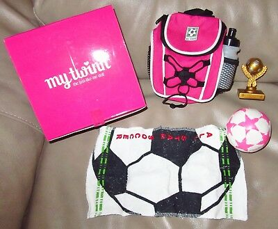 "New in Box My Twinn Soccer Gear for 23"" My Twinn Doll"