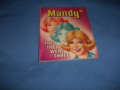 RARE VERY EARLY No 5 MANDY PICTURE STORY LIBRARY BOOK from l970's- never read!