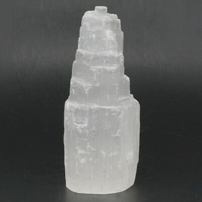 1pcs Selenite Castles Gypsum Tower Mineral Formations Crystals approx 4 inch