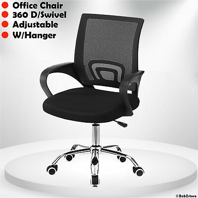 Office Mesh Chair Computer Desk Fabric Adjustable Ergonomic 360° Swivel Lift Uk