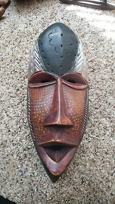 African Wood Mask from Ghana