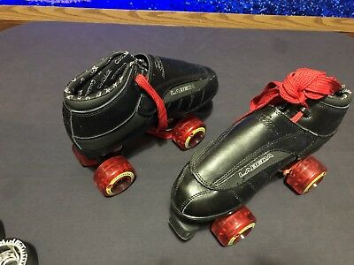 New Labeda G-80 Leather Skates Custom Size 7