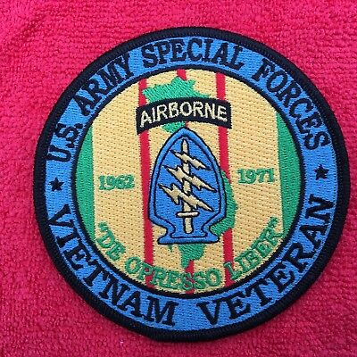 Us Army Special Forces Vietnam Veteran Patch
