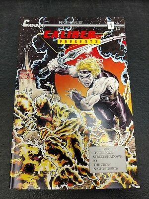 Caliber Presents #1 First Appearance Of The Crow Jim O'Barr High Grade HTF