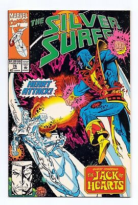 Marvel Comics: Silver Surfer #76 & #77 - Both Issues!
