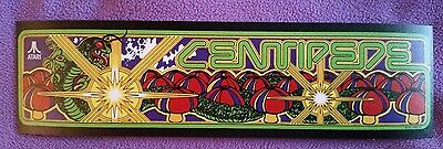 Centipede arcade marquee sticker. 3 x 10. (Buy any 3 stickers, GET ONE FREE!)