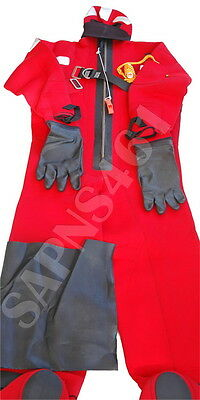 CREWSAVER  SOLAS MED Approved Neoprene Abandonment Immersion Suit *L - SIZE*
