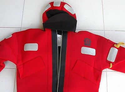 CREWSAVER  SOLAS MED Approved Neoprene Abandonment Immersion Suit *U - SIZE*