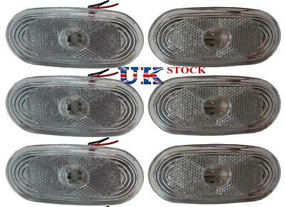 New 6x Side Marker Lights White LED Lamps for MERCEDES SPRINTER - VW CRAFTER