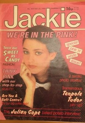 Jackie magazine x 20 magazines 1982 May to October