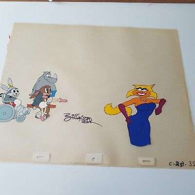 ONE CRAZY SUMMER -ANIMATION -  DYNAMIC-DUO 3 /  - signed by BILL KOPP