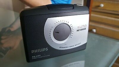 Philips AQ 6487 STEREO CASSETTE PLAYER