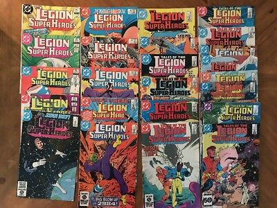Legion Of Super Heroes #302-325 By Paul Levitz, Keith Giffen, Larry Mahlstedt +