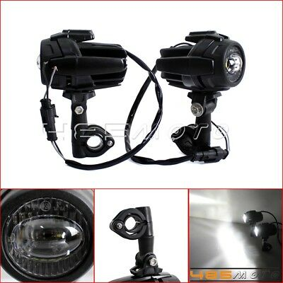 2X Motorcycle 40W Cree LED Spot Fog light Auxiliary Lamp For BMW R1200GS F800GS