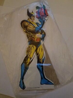 """Wolverine X-Mas 1993 Comic Images 11"""" Standee Bagged Marvel Having A Baby Sale!"""