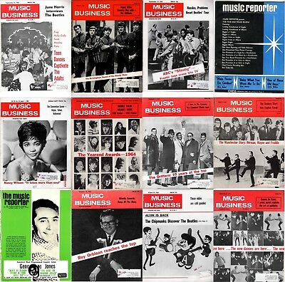 Music Business Magazine's DVD  60s Rock and Roll Pdf's + EXTRAS Country Reporter