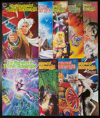The Adventures of Luther Arkwright #1-9 (1990, Dark Horse) Complete Set Talbot