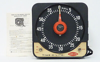 Time-O-Lite Model EZC-73 Darkroom Timer - Tested