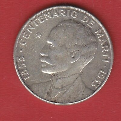 World Coin 50 Cents 1953  Silver
