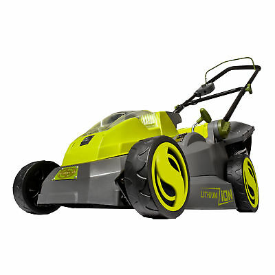 Sun Joe Cordless Lawn Mower | 16 inch | Brushless Motor | Battery Not Included