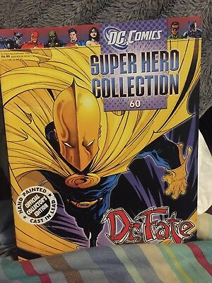 Eaglemoss DC Dr Fate Magazine Only