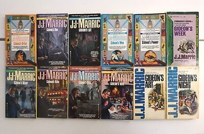 Lot of 12 Vintage Gideon Mystery Paperbacks by John Creasey, J.J. Marric