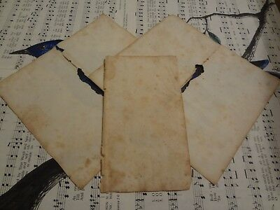 Vintage 1829 blank pages - blank paper