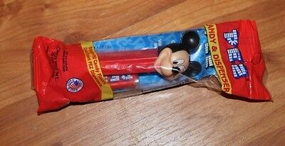 Disney's Mickey Mouse Pez candy dispenser collectible item NEW #591