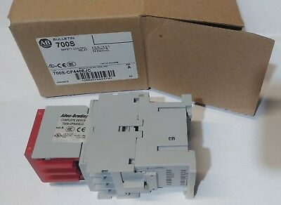 NEW Allen-Bradley 700S-CF440EJC Safety Control Relay 8P, 4NO/4NC Contacts, 20A