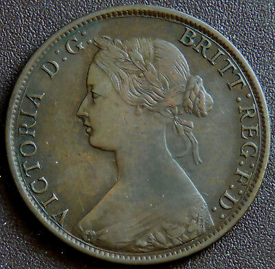 Canada Nova Scotia Victoria 1861 One Cent   #116093