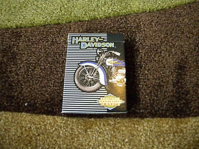 Vintage 1997 HARLEY DAVIDSON Playing Cards