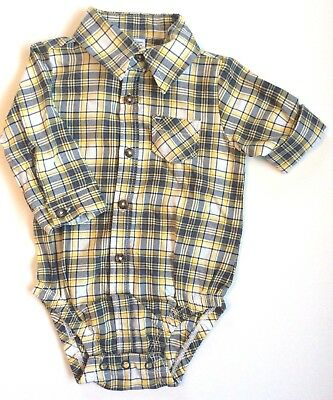Clothing, Shoes & Accessories Nwot Just One You Carter's 9 Month Long Sleeve One Piece Top Shirt Boy Set Bear