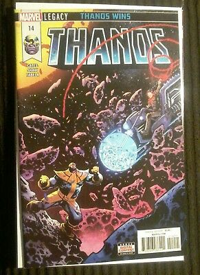 Thanos 14 1St Print 2Nd Cosmic Ghost Rider First Appearance On Cover!! Hot!!! M