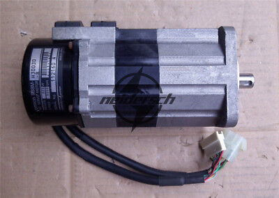 1PCS Used OMRON AC Servo Motor R88M-H30030-B 100W Tested #7