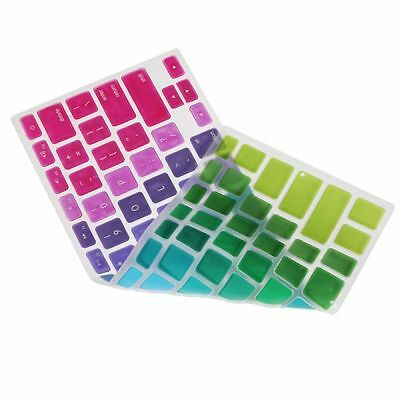 Laptop Retina Colorful Rainbow Keyboard Cover For Macbook Air Silicone