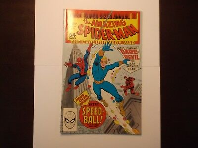 The Amazing Spider-Man Annual #22 1988 Nm Near Mint 9.4 1St App Speed Ball